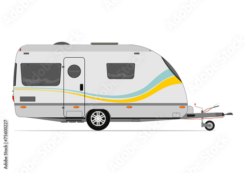 Modern caravan - 75600227