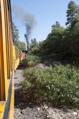 The narrow gauge railway from Durango to Silverton Colorado