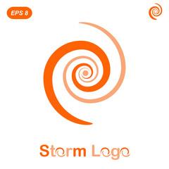 Storm logo concept