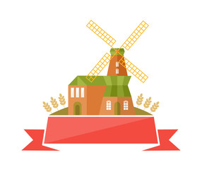 The Mill Logo Template