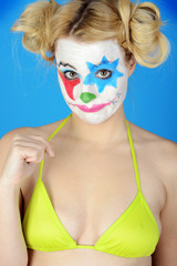 Sexy Clown in Bikini