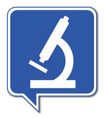 Logo microscope.