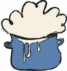doodle cooking milk