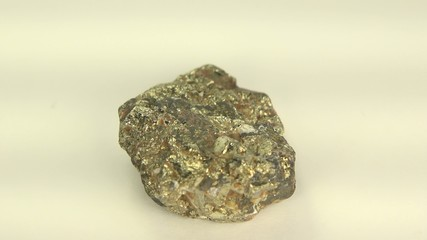 Iron Ore Pyrite Close-Up