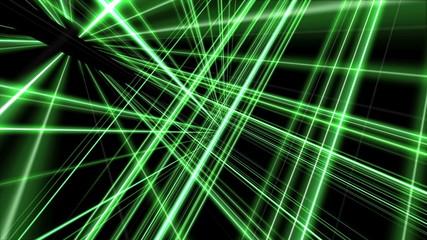 3d line green 4k