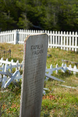 Yaghan Cemetery on Navarino Island
