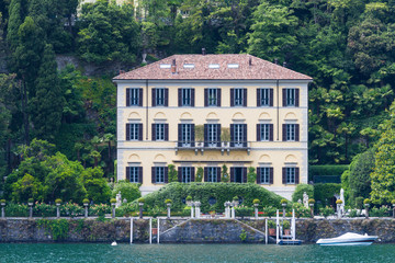 Villa La Fontanelle at Lake Como