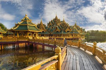 Pavilion of the Enlightened, Ancient Cityf Bangkok
