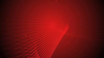 3d line background red 4k