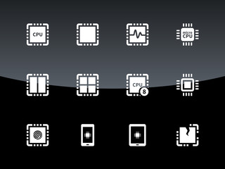 CPU icons on black background.