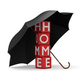 proteggere casa