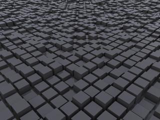 Поверхность из кубов