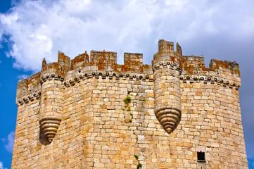 Castillo de Coria, Cáceres, siglo XV, arquitectura militar