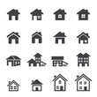 house icon set - 75615432