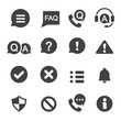 information and notification icon