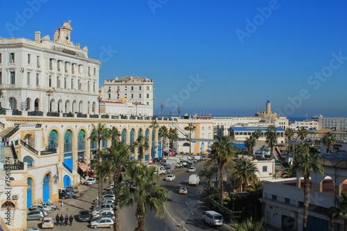 In de dag Algerije Alger la blanche, Algérie