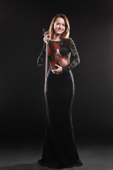 Violin player classical musician violinist