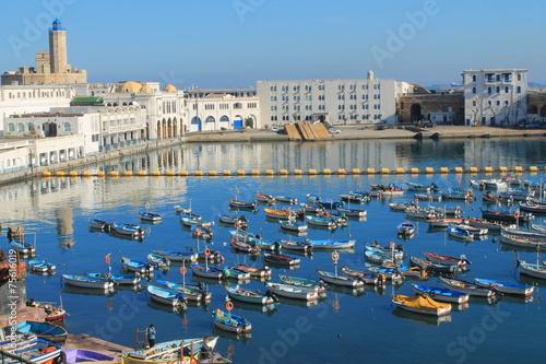 Fotobehang Algerije Port de pêche d'Alger, Algérie