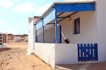 Majanicho village in Fuerteventura Canary islands Spain