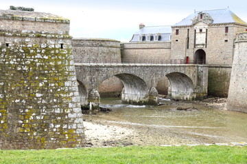 Port Louis fort  in the Morbihan department in Brittany, France