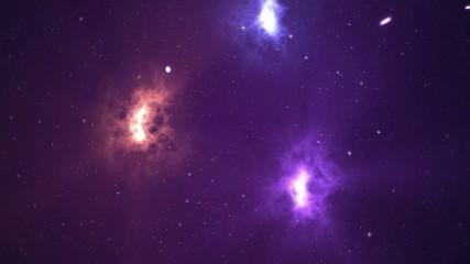 Thru the stars - counter clockwise. 4K