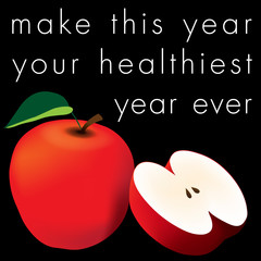 Healthy Year Apples