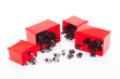 Leinwanddruck Bild - Electronic component jack