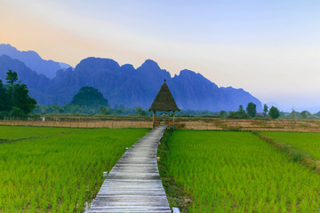 Vang Vieng Resort, Laos