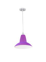 Purple hanging lamp