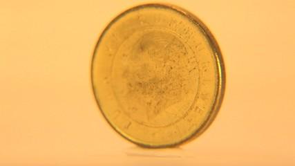 One Turkish Lira Coin
