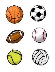 Cartoon Sports Equipment