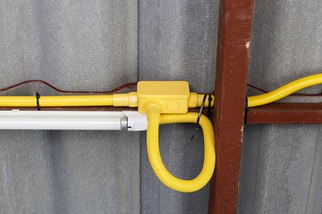 Electrical pipe installation