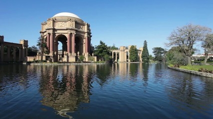 Palace of Fine Arts in the Morning