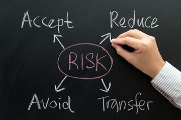 Risk management flow chart