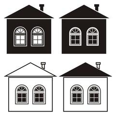house, set