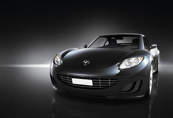 Comtemporary Car Elegance Vehicle Transportation Luxury Concept