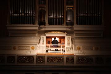 Orgelspieler