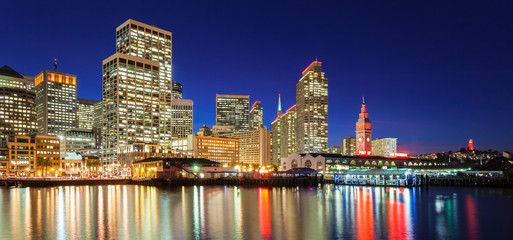 San Francisco in Red and Gold