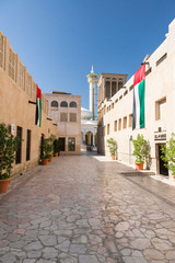 Bastakiya district in Dubai