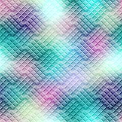 Diagonal green mosaic staggered
