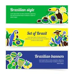 Brazil Banner Set