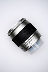 Lens Nikkor for photocamera Nikon in private collection