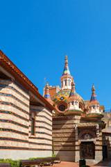 Church in Lloret de Mar. Spain