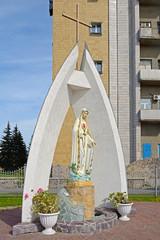 Kemerovo, the statue near Catholic Church