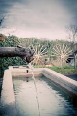 Lavoir fontaine
