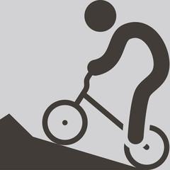 Cycling BMX icon