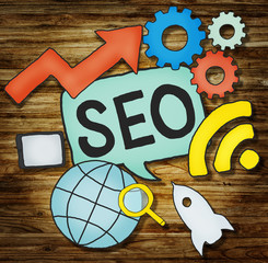 SEO Growth strategy Marketing Planning Data Concept