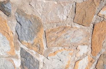 Stone wall masonry Spain
