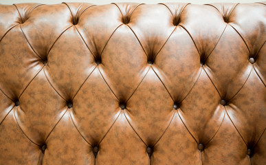 Genuine leather  sofa abstract background