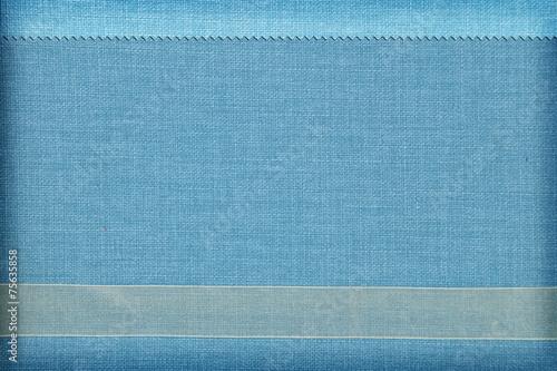Fotobehang Stof Decorative fabric background. Scrapbook, photobook concept